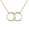 Clarissa Simple Rose Flower Pendant Chain Necklace