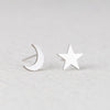 Alexa Cute Textured Heart Outline 925 Sterling Silver Earring Studs