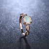 White Opal Rose Gold Swirl Ring Beautiful Pretty Cute Rings Anniversary Graduation Promise Engagement Wedding Present Ring Statement Fashion Jewelry for Women (www.Jewolite.com) #ringsWhite Opal Rose Gold Swirl Ring Beautiful Pretty Cute Rings Anniversary Graduation Promise Engagement Wedding Present Ring Statement Fashion Jewelry for Women (www.Jewolite.com) #rings
