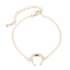 Farah Cute Evil Eye Adjustable Chain Charm Bracelet