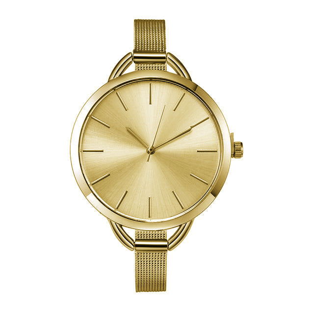 Minimalist Simple Women's Watches in Silver / Gold Simple Fashion Jewelry Luxury for Ladies - simples pequeños relojes lindos de las mujeres pequeñas - (www.Jewolite.com)