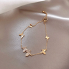 Cute Butterfly Chain Bracelet Fashion Jewelry for Women - www.Jewolite.com #bracelet