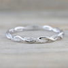 Simple Dainty Everyday Ring Fashion Jewelry for Teens Women's Stackable Crystal Silver Ring (www.Jewolite.com) #rings