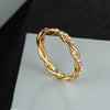 Simple Dainty Everyday Ring Fashion Jewelry for Teens Women's Stakable Crystal Rose Gold Ring (www.Jewolite.com) #rings