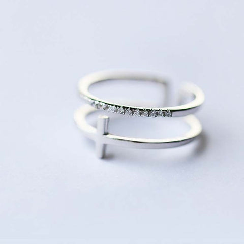 Ella Cute Dainty Simple Minimalist Heart Ring