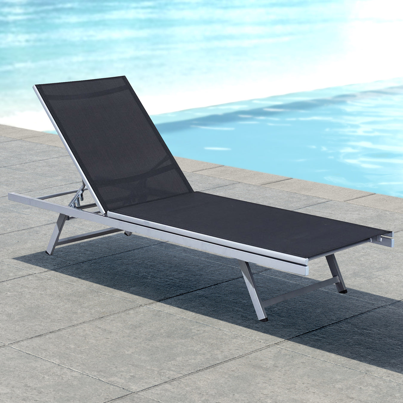Outdoor lounger chairs