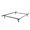 Adjustable Twin/Single or Full/Double Metal Bed Frame