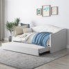 Fairfield Tufted Day Bed with 2 Memory Foam Mattresses Twin/Single- *CLEARANCE*
