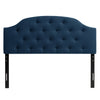 Calera Tufted Fabric Headboard, Queen