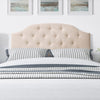Calera Tufted Fabric Headboard, Double/Full