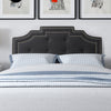 Aspen Headboard with Nail head Trim, Queen