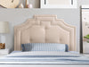 Aspen Headboard with Nail head Trim, Single/Twin