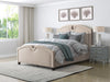 Fairfield Fabric Curved Top Bed, Twin/Single - *CLEARANCE - Final Sale*