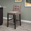 Antonio Tweed Fabric Bar Height Bar Stool