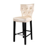 Antonio PU Leather Button Tufted Bar Height Bar Stool, Set of 2 - *CLEARANCE*