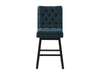 Boston Tufted Fabric Barstool, Set of 2