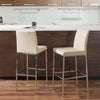Huntington Fabric Bar Stools with Chrome Legs, Bar Height, Set of 2 - *CLEARANCE*
