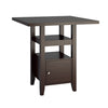 "Bistro 36"" Counter Height Dining Table with Cabinet - <body><p style=""color:#ED1C24"";>*CLEARANCE - Final Sale*</p></body>"