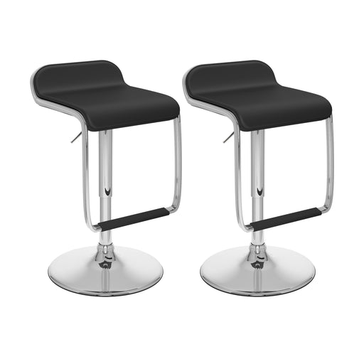 Adjustable Bar Stool Foot Rest Set of 2