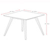 Cappuccino Stained Dining Table - *CLEARANCE*