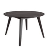 Round Cappuccino Stained Dining Table - *CLEARANCE*