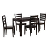 "Memphis Solid Wood Dining Table and Chair Set 5pc - <body><p style=""color:#ED1C24"";>*CLEARANCE - Final Sale*</p></body>"