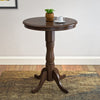 Woodgrove Dark Brown Bar Table with Pedestal Base - *CLEARANCE*