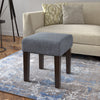 "Antonio 16"" Square Bench in Fabric *CLEARANCE*"