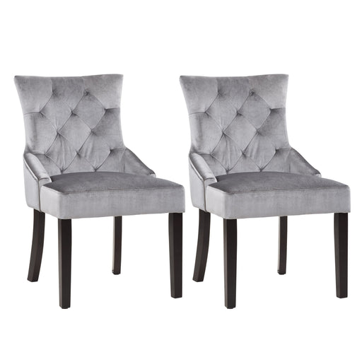 Antonio Accent Chair in Velvet, set of 2 *CLEARANCE - Final Sale*