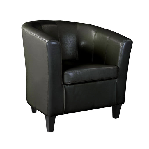 Antonio Tub Chair in Bonded Leather