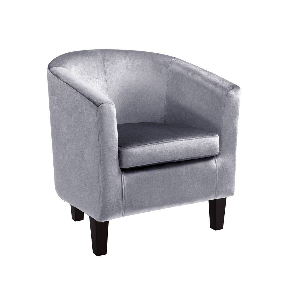 Antonio Tub Chair in Velvet *CLEARANCE*