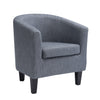 Antonio Fabric Tub Chair *CLEARANCE*