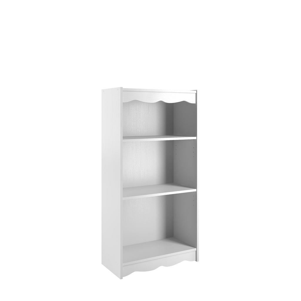 "Hawthorne 48"" Tall Bookcase in Frost White"