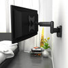 "Full Motion Black Wall Mount for 18"" - 32"" TVs"