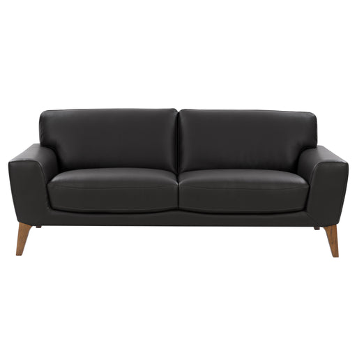 Modern, High-Grade, Durable Faux Leather Low-Profile Sofa