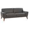London Modern, High-Grade, Luxury Faux Leather Sofa
