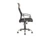 Executive Office Chair in Black Leatherette and Mesh