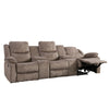 Syracuse Modular Reclining Sectional with Storage, Fabric 5pc *CLEARANCE*