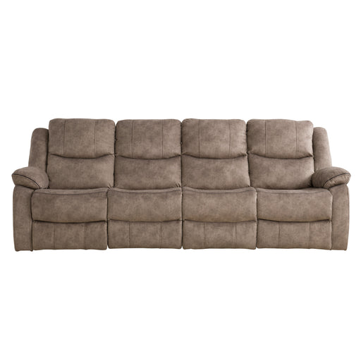 4pc Extended Modular Reclining Sofa, Fabric