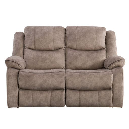 2pc Modular Reclining Loveseat, Fabric
