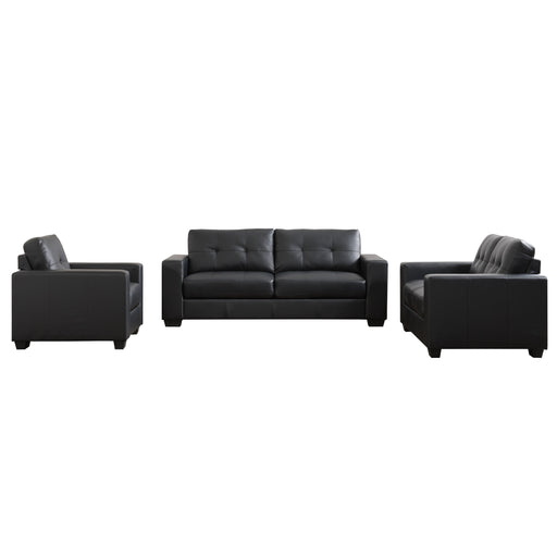 Club 3pc tufted sofa set