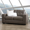 Club Tufted Bonded Loveseat
