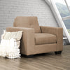 "Club Chenille Fabric Chair - <body><p style=""color:#ED1C24"";>*CLEARANCE - Final Sale*</p></body>"