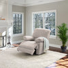 Lea Plush Reclining Chenille Fabric Recliner
