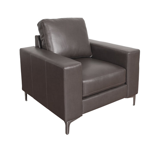 "Cory Contemporary Bonded Leather Chair - <body><p style=""color:#ED1C24"";>*CLEARANCE - Final Sale*</p></body>"