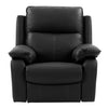 Genuine Leather Recliner Chair with Detail Stitching *CLEARANCE - Final Sale*