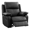 Genuine Leather Recliner Chair with Detail Stitching