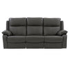 Genuine Leather Recliner Sofa with Detail Stitching