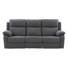 Ultra Soft Fabric Sofa with Detail Stitching, Medium Grey