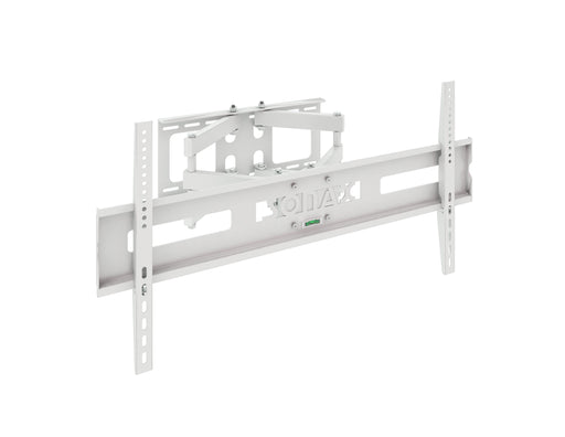 "Full-Motion White Wall Mount for 40"" - 80"" TVs"